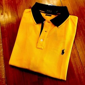 POLO RALPH LAUREN Golden Yellow Polo Shirt